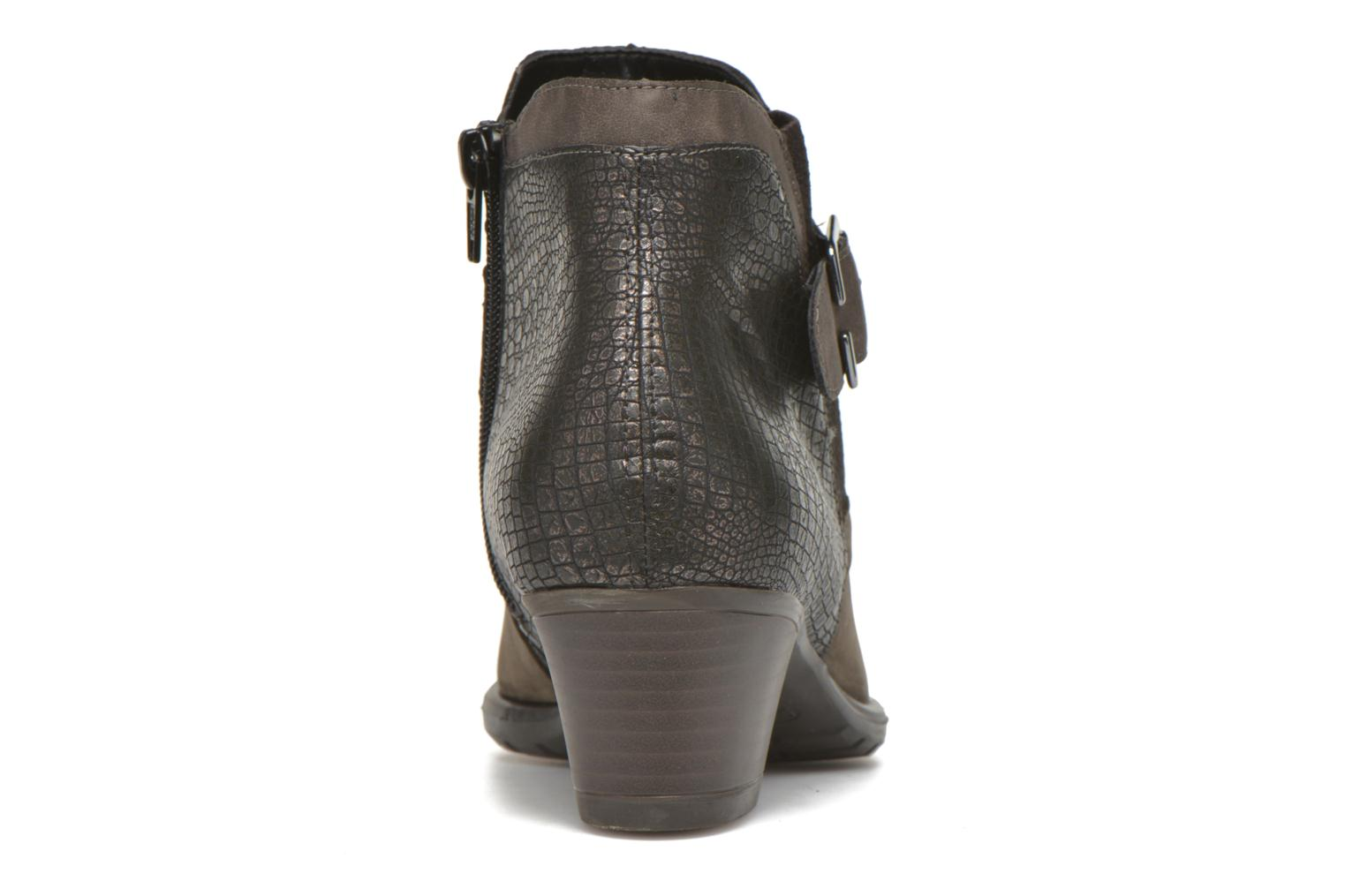 Ankle boots Remonte Andrea D3182 Grey view from the right
