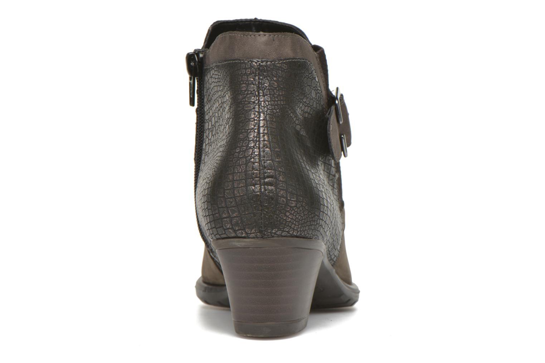 Stiefeletten & Boots Remonte Andrea D3182 grau ansicht von rechts