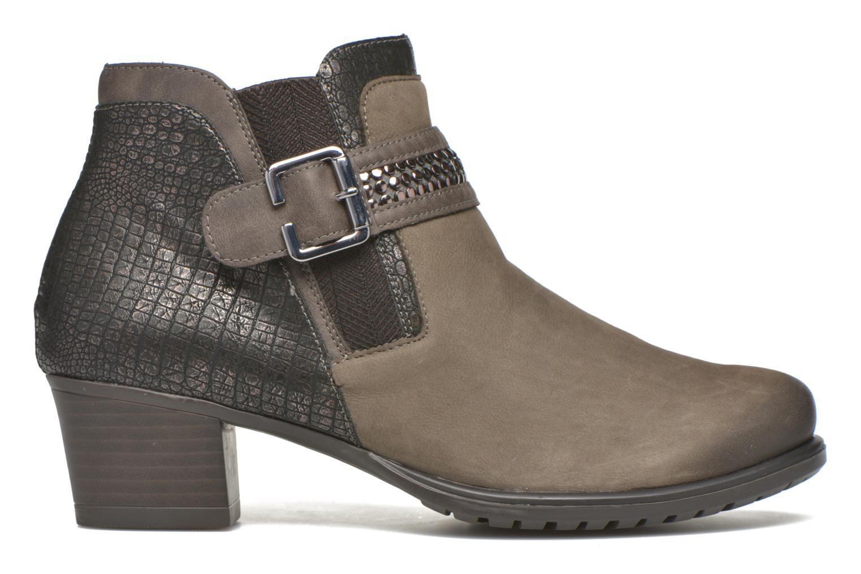 Stiefeletten & Boots Remonte Andrea D3182 grau ansicht von hinten