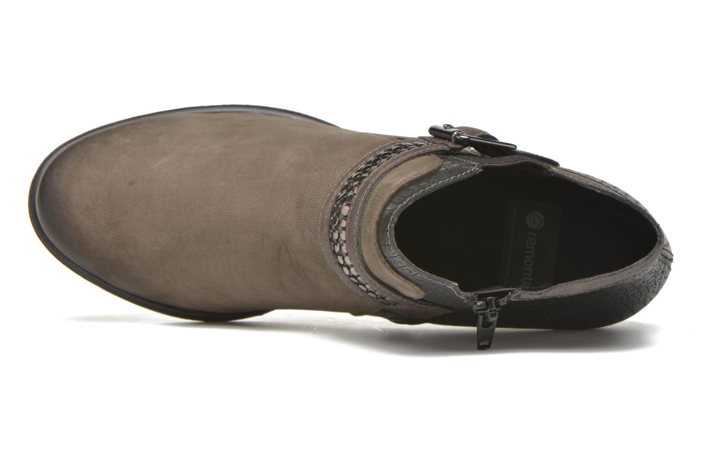 Stiefeletten & Boots Remonte Andrea D3182 grau ansicht von links