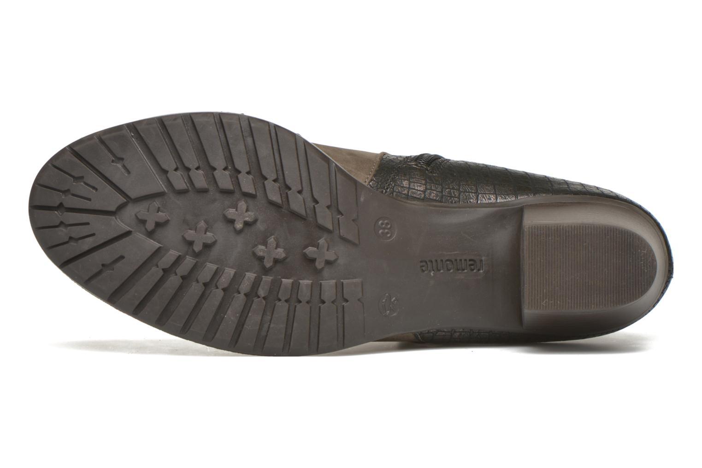 Stiefeletten & Boots Remonte Andrea D3182 grau ansicht von oben