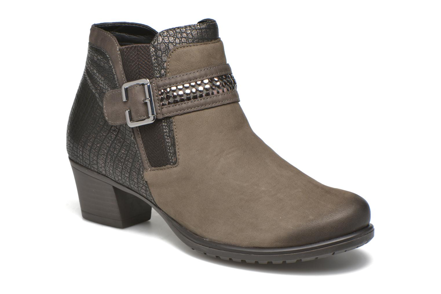 Ankle boots Remonte Andrea D3182 Grey detailed view/ Pair view