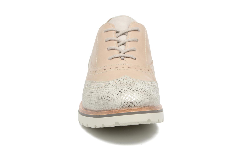 Chaussures à lacets Remonte Alix R1901 Blanc vue portées chaussures