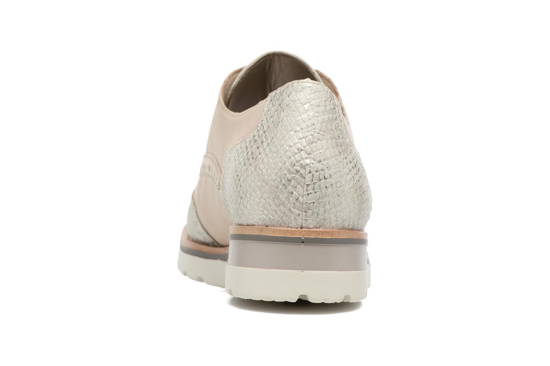 Chaussures à lacets Remonte Alix R1901 Blanc vue droite