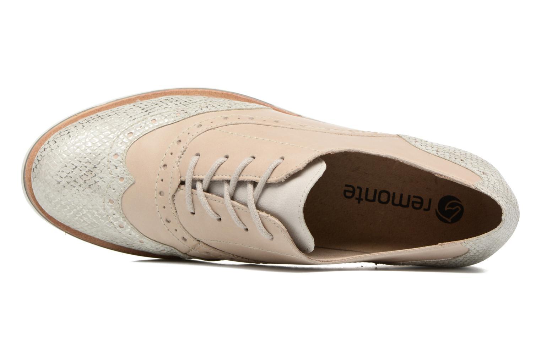 Chaussures à lacets Remonte Alix R1901 Blanc vue gauche