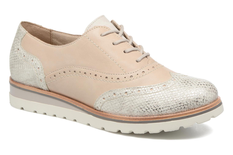 Chaussures à lacets Remonte Alix R1901 Blanc vue détail/paire