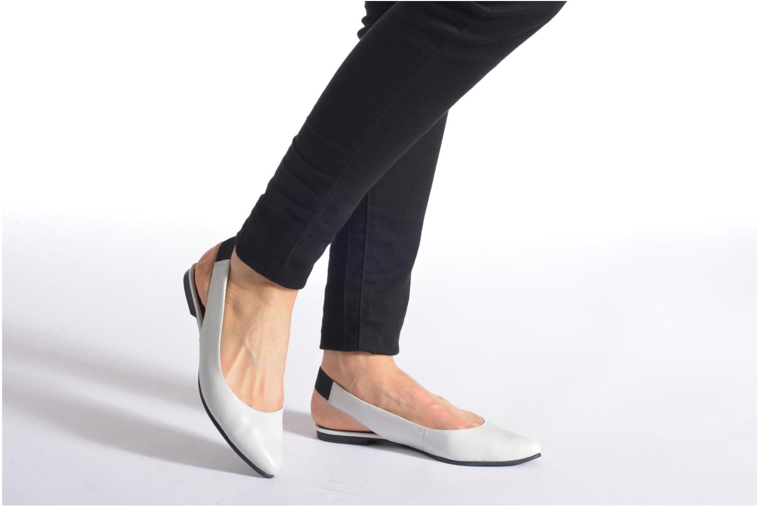 Ballet pumps S.Oliver Lyna White view from underneath / model view