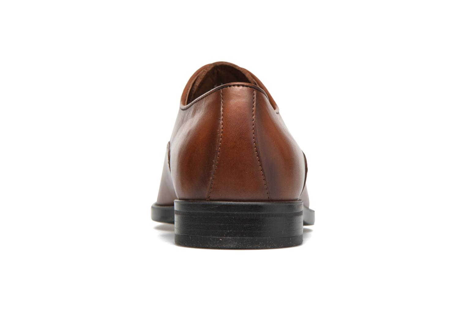 Lace-up shoes Marvin&co Tonbridge Brown view from the right