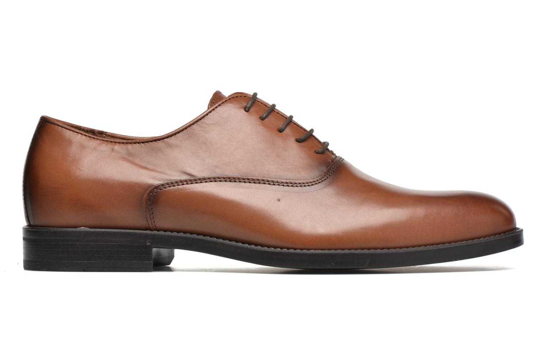 Lace-up shoes Marvin&co Tonbridge Brown back view