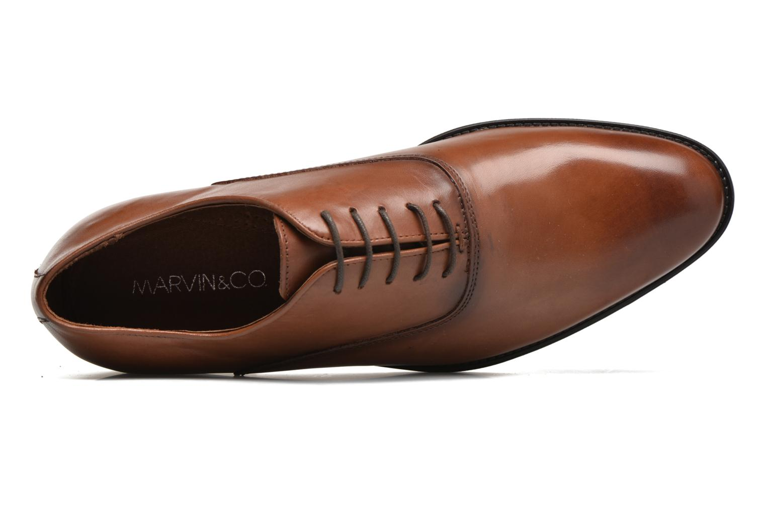 Lace-up shoes Marvin&co Tonbridge Brown view from the left