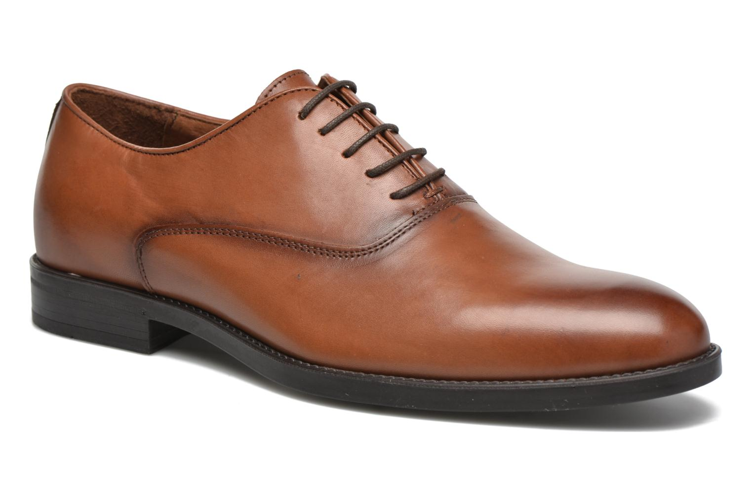 Veterschoenen Marvin&Co Tonbridge Bruin detail