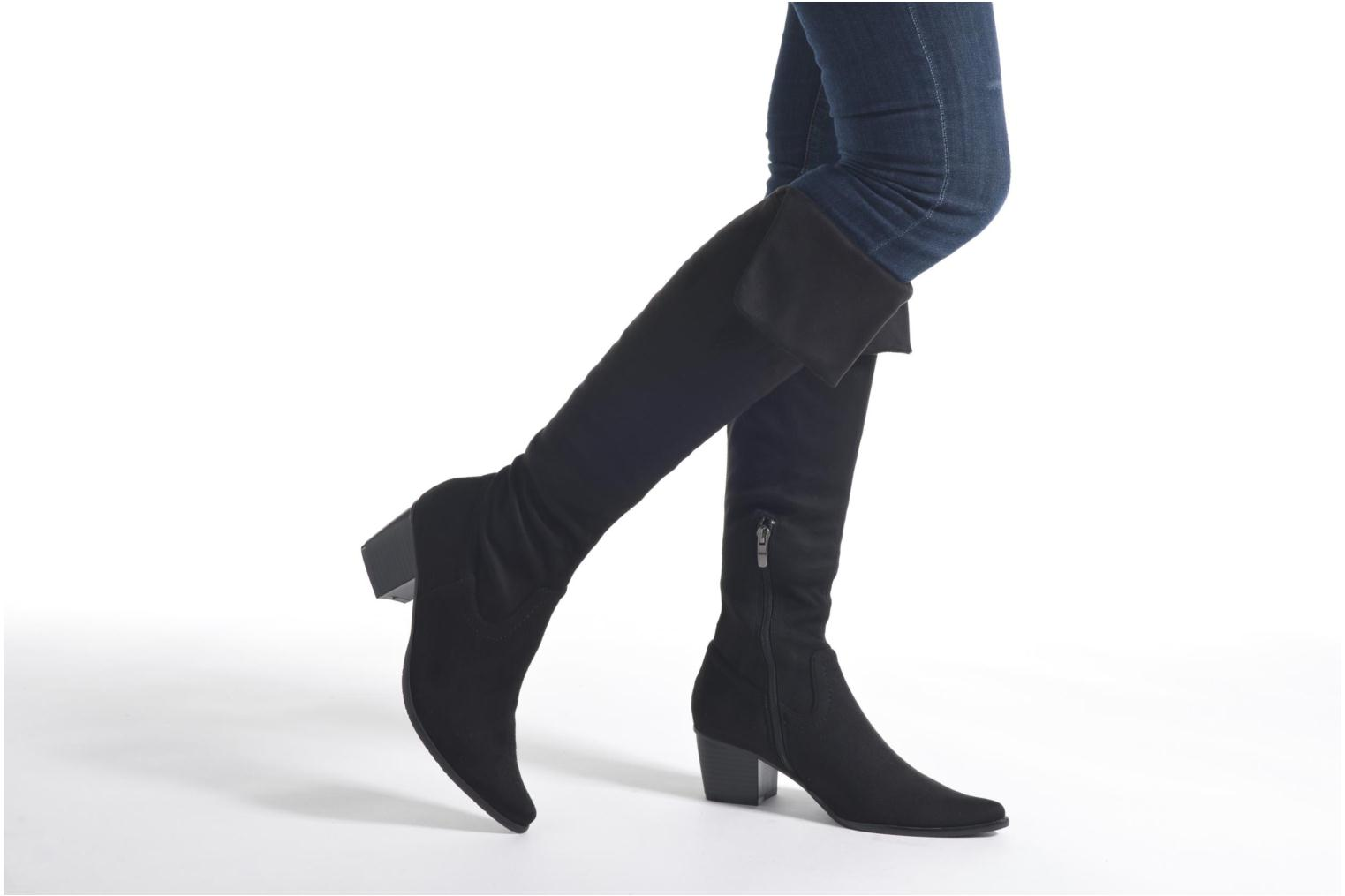 Boots & wellies Madison AYZINI *Velours Sp NOIR Black view from underneath / model view