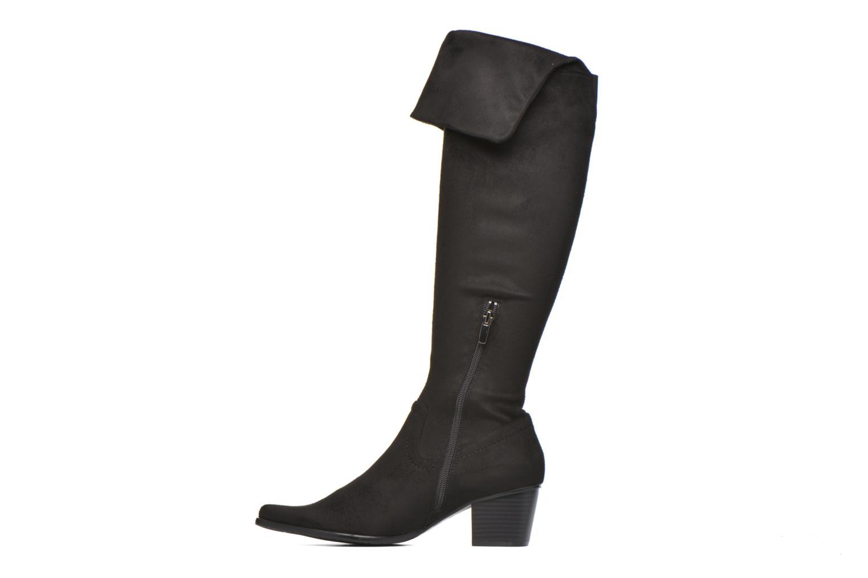 Boots & wellies Madison AYZINI *Velours Sp NOIR Black front view
