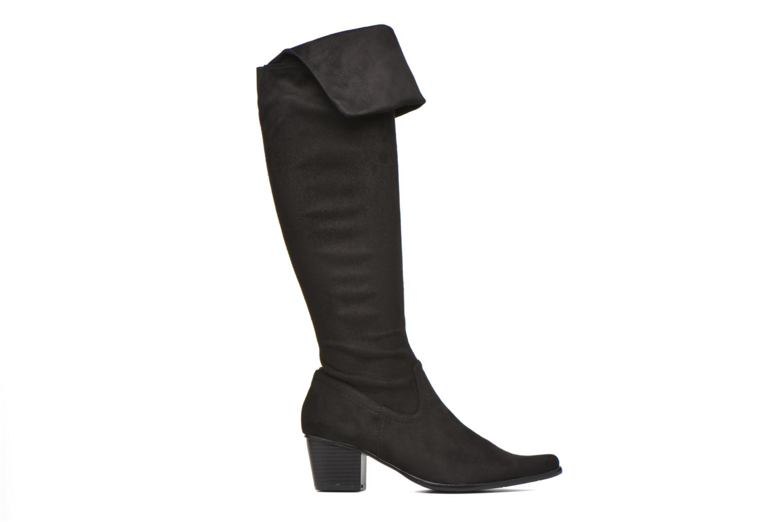 Boots & wellies Madison AYZINI *Velours Sp NOIR Black back view