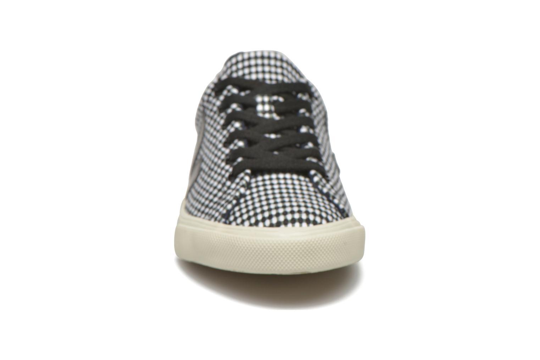 Baskets Veja Esplar Lt Noir vue portées chaussures