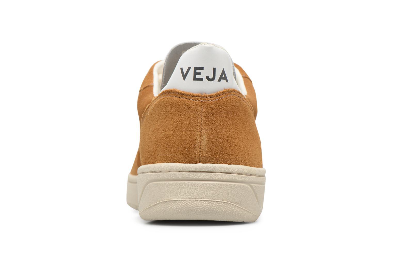 Sneakers Veja V-10 Bruin rechts