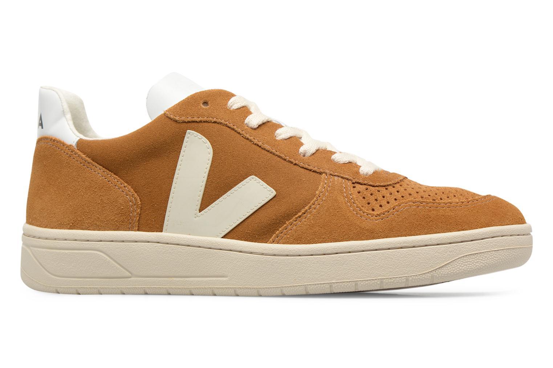 Sneakers Veja V-10 Bruin achterkant