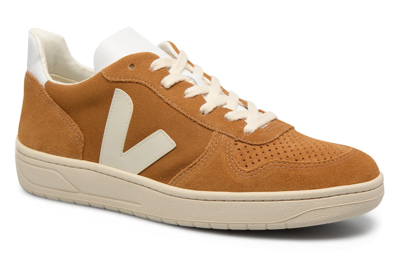 Sneakers Veja V-10 Bruin detail
