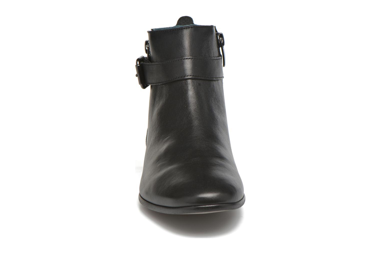 Botines  Karston JOYAU Vo NOIR/Mat.BRONZE ~Doubl & 1ere CUIR Negro vista del modelo