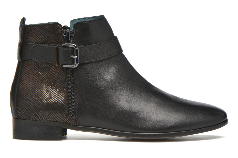Ankle boots Karston JOYAU Vo NOIR/Mat.BRONZE ~Doubl & 1ere CUIR Black back view