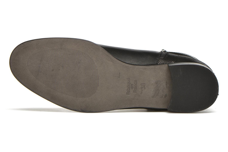 Stiefeletten & Boots Karston JOYAU Vo NOIR/Mat.BRONZE ~Doubl & 1ere CUIR schwarz ansicht von oben