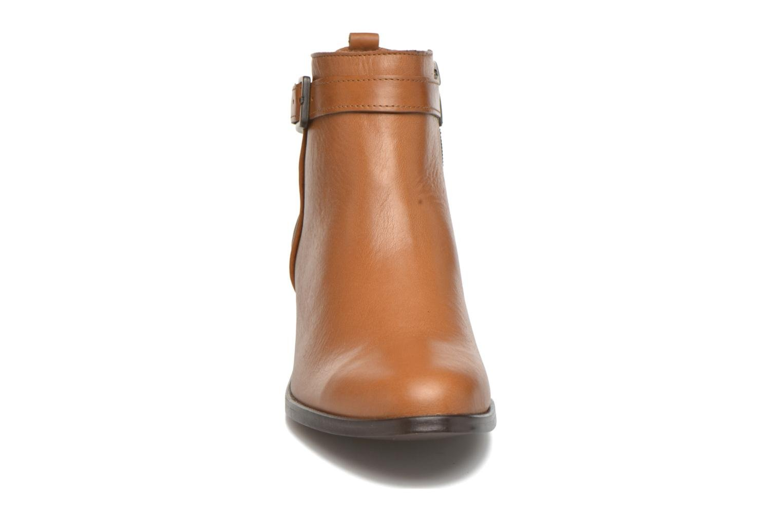 Ankle boots Karston GLELIN *Mult Vo Truck CAMEL ~Doubl & 1ere CUIR Brown model view