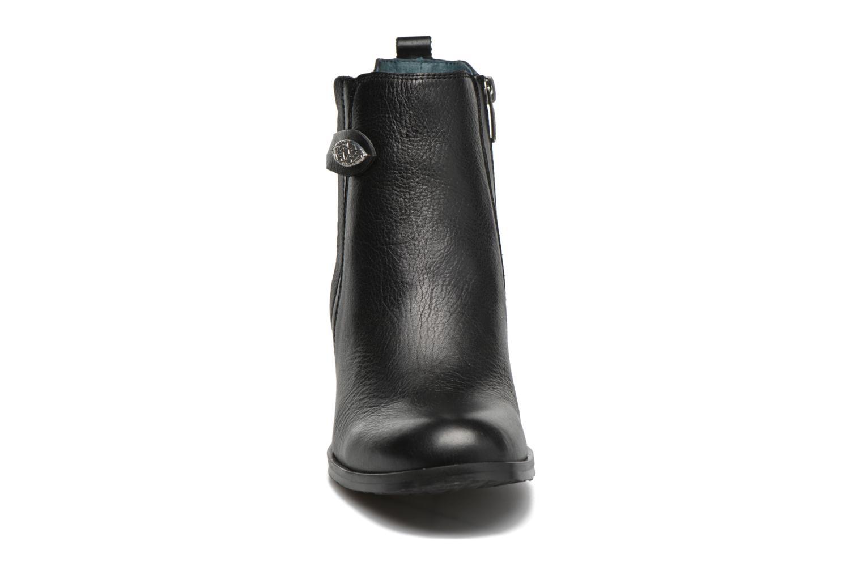 Stiefeletten & Boots Karston GLOUPI #Mult Vo Milled NOIR ~Doubl & 1ere CUIR schwarz schuhe getragen