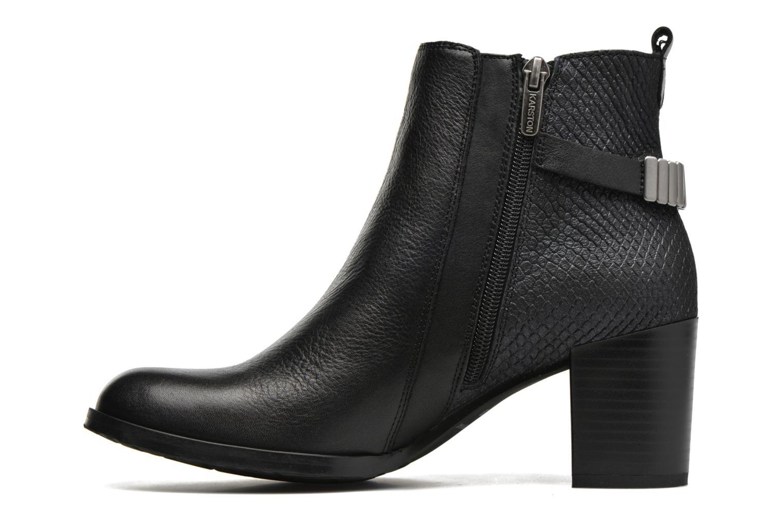 Stiefeletten & Boots Karston GLOUPI #Mult Vo Milled NOIR ~Doubl & 1ere CUIR schwarz ansicht von vorne