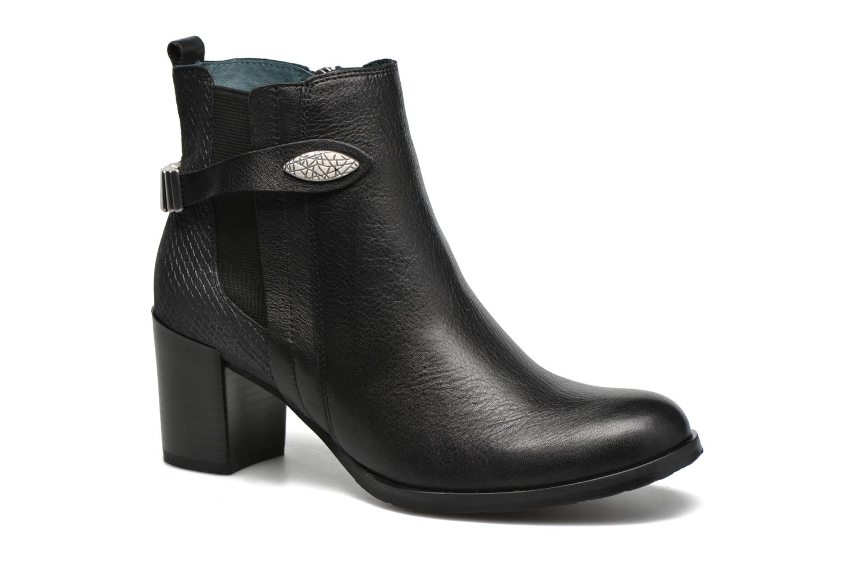 Stiefeletten & Boots Karston GLOUPI #Mult Vo Milled NOIR ~Doubl & 1ere CUIR schwarz detaillierte ansicht/modell