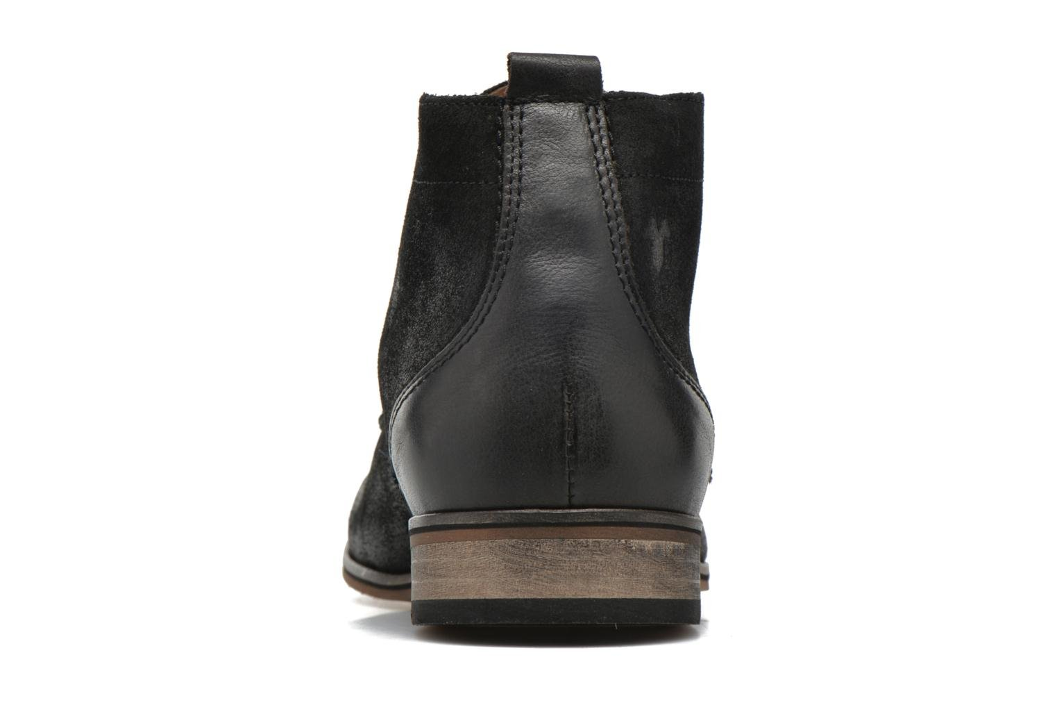 Lace-up shoes Kost Zkivive46 Black view from the right