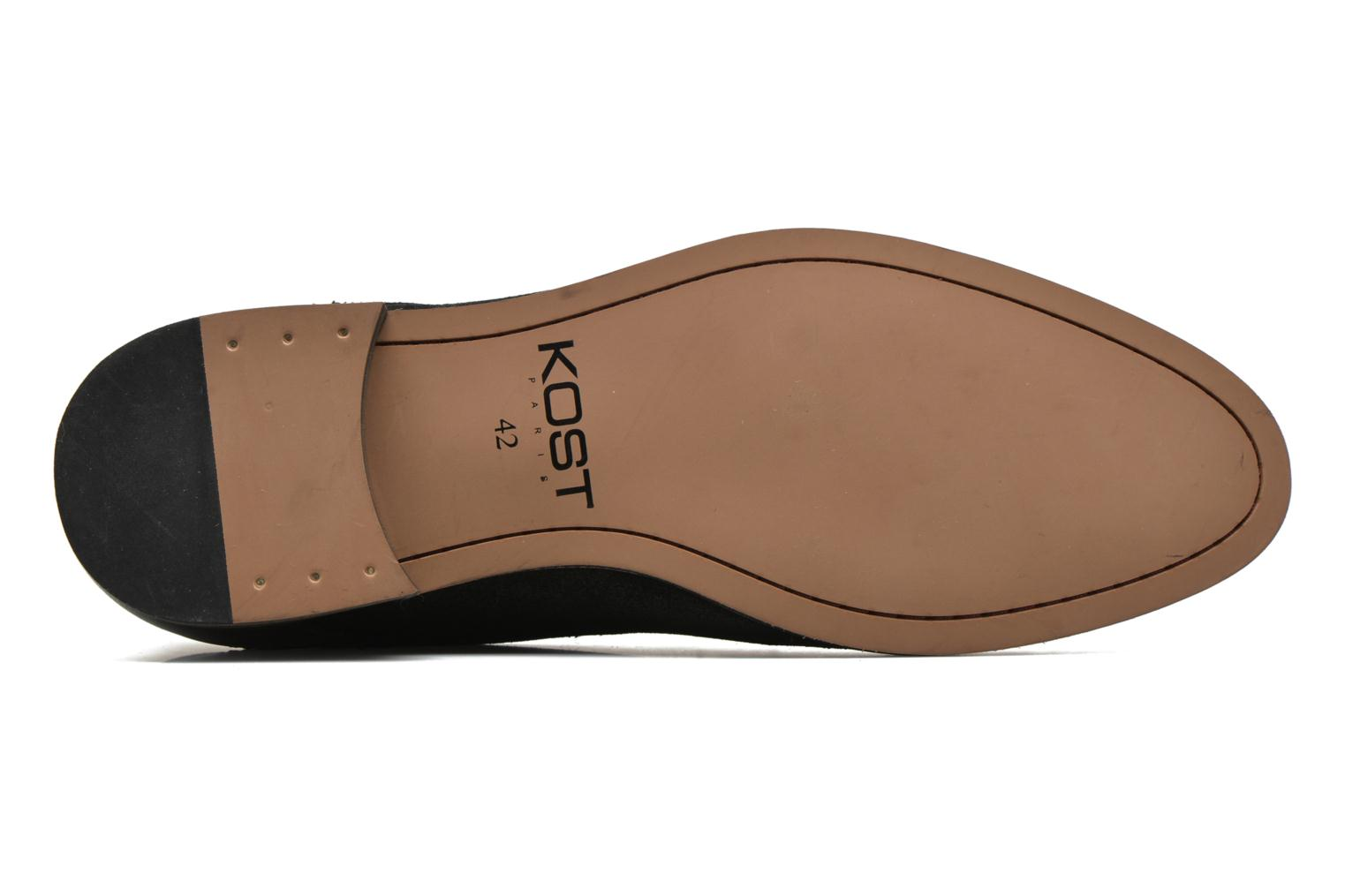 Lace-up shoes Kost Zkivive46 Black view from above