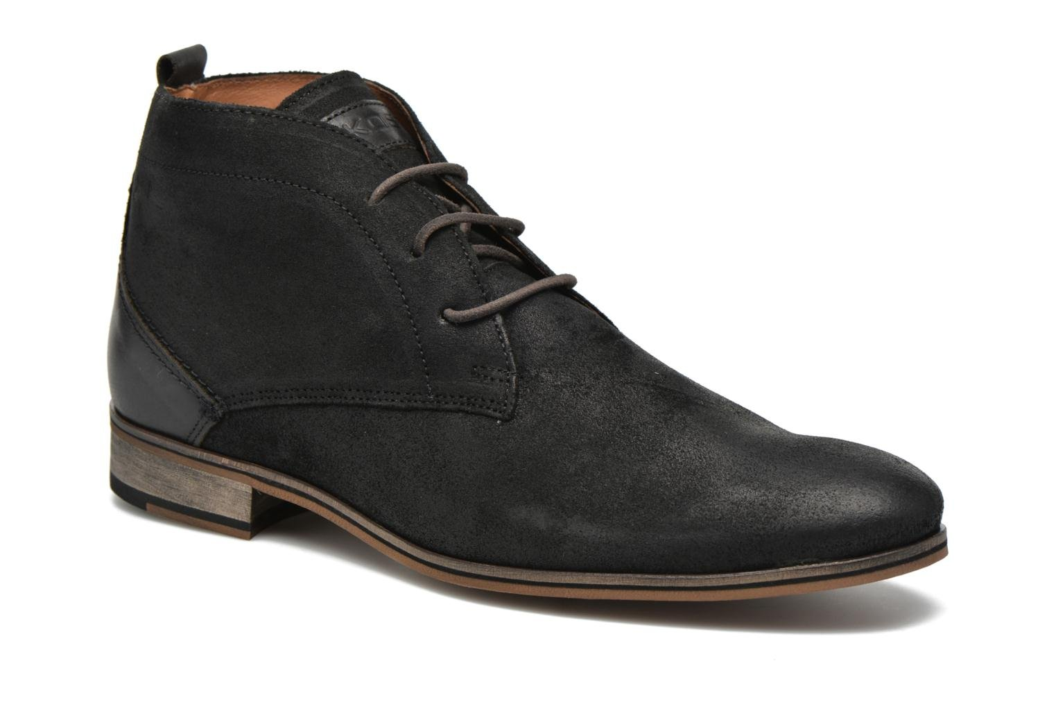 Lace-up shoes Kost Zkivive46 Black detailed view/ Pair view