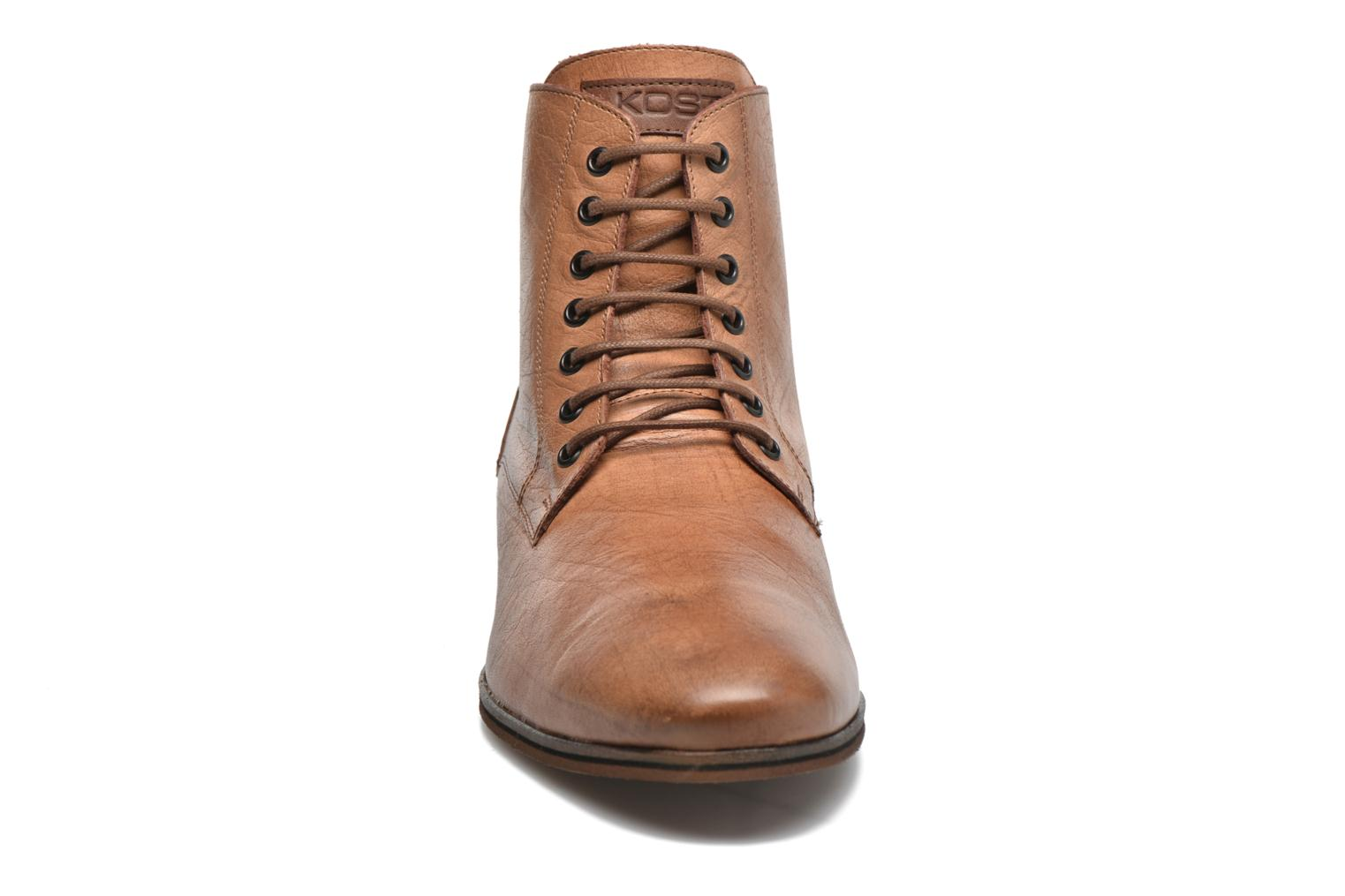 Ankle boots Kost Zkirvani51 Brown model view