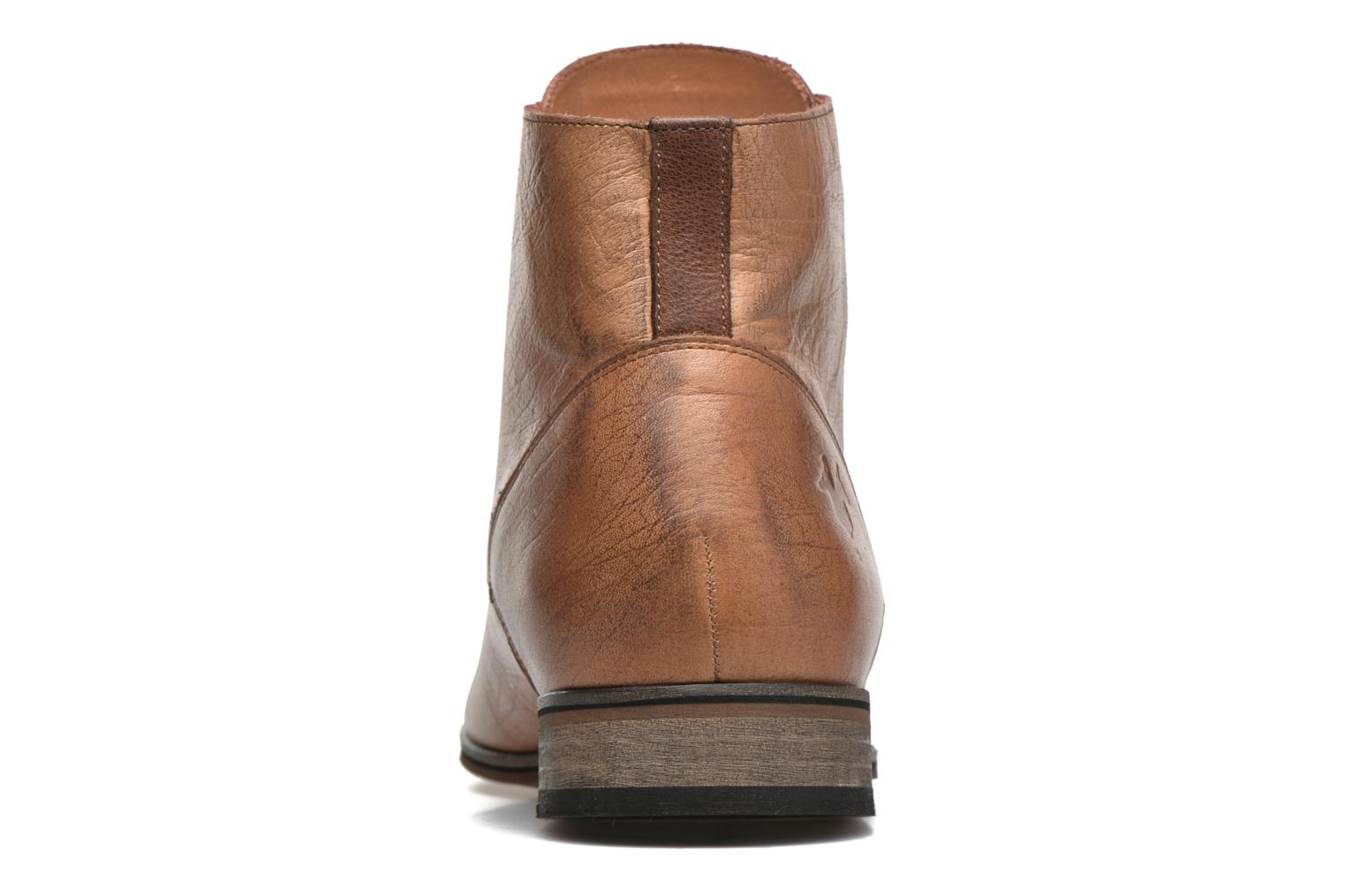 Ankle boots Kost Zkirvani51 Brown view from the right