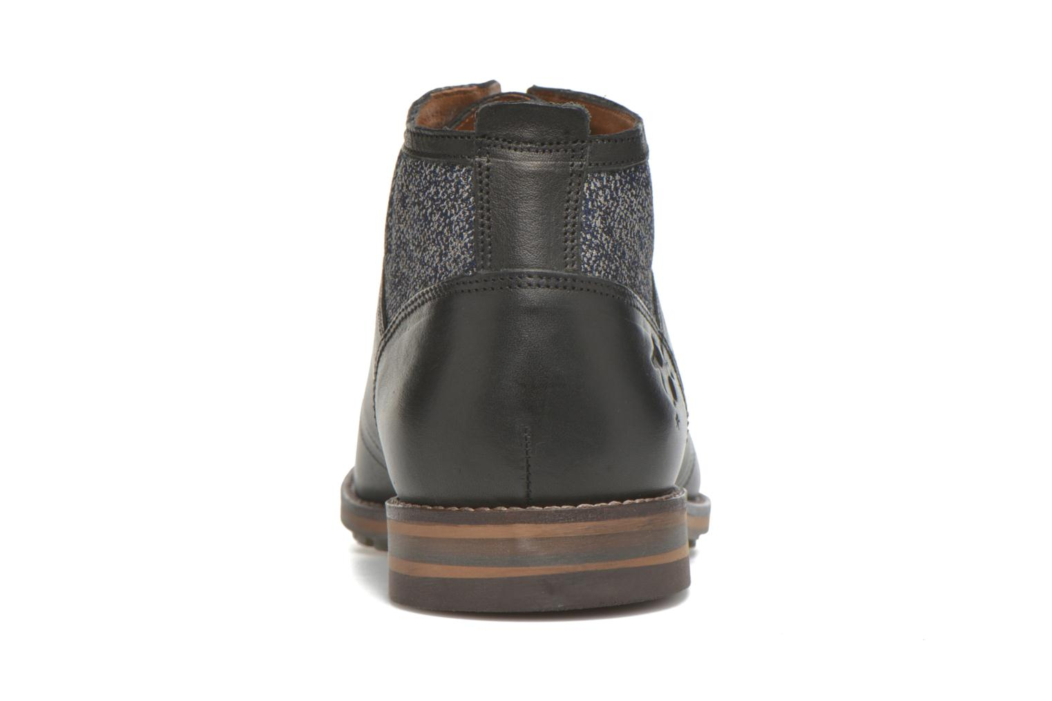 Lace-up shoes Kost Renon25 Black view from the right