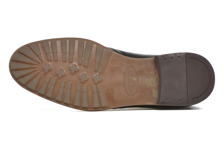 Chaussures à lacets Kost Renon25 Noir vue haut
