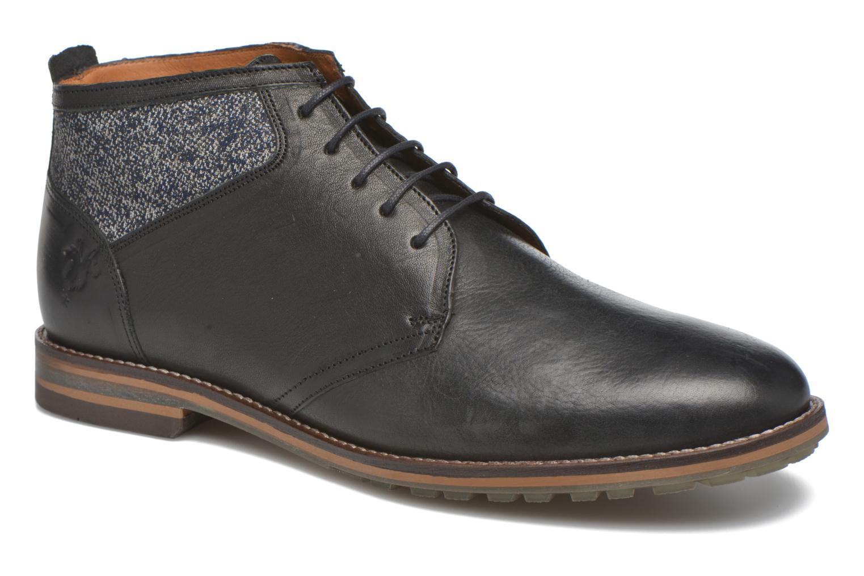 Chaussures à lacets Kost Renon25 Noir vue détail/paire
