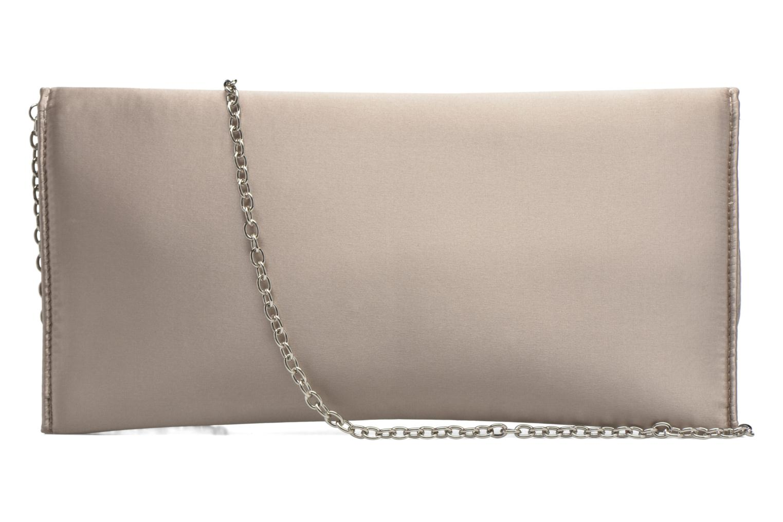 Handbags Menbur Pochette satin Beige front view