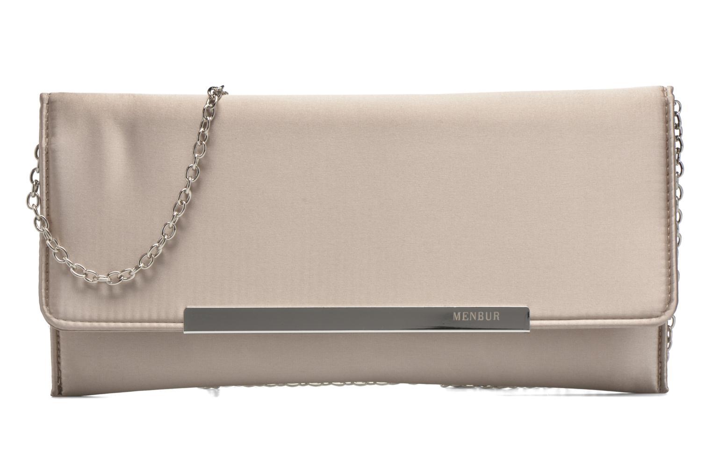 Handbags Menbur Pochette satin Beige detailed view/ Pair view