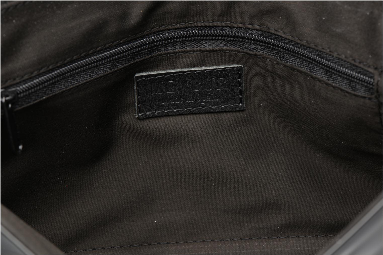 Sacs pochettes Menbur Pochette vernie Noir vue derrière