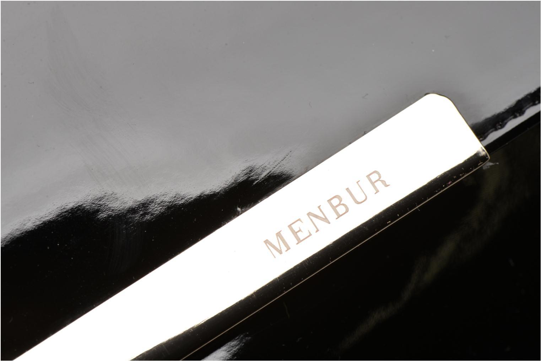 Sacs pochettes Menbur Pochette vernie Noir vue gauche