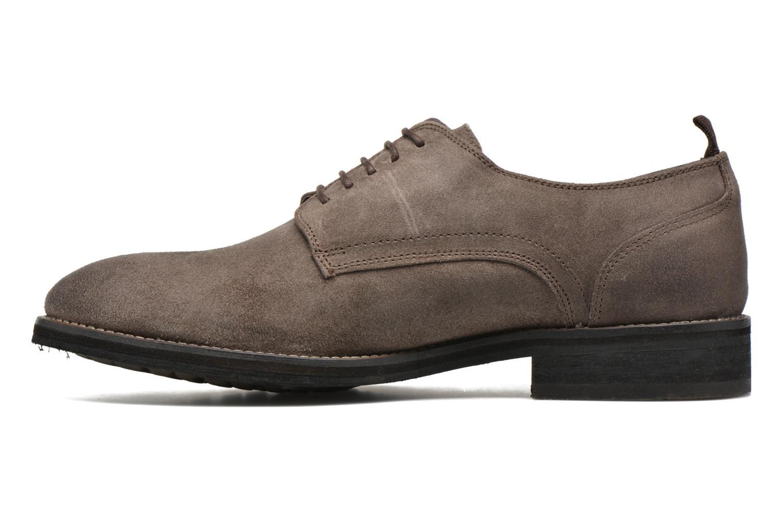 Chaussures à lacets Pepe jeans Hackney Rustic Marron vue face