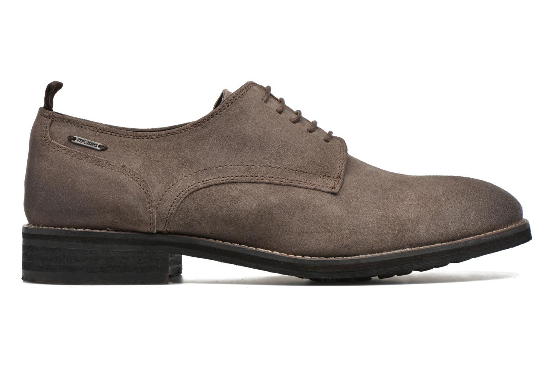 Chaussures à lacets Pepe jeans Hackney Rustic Marron vue derrière