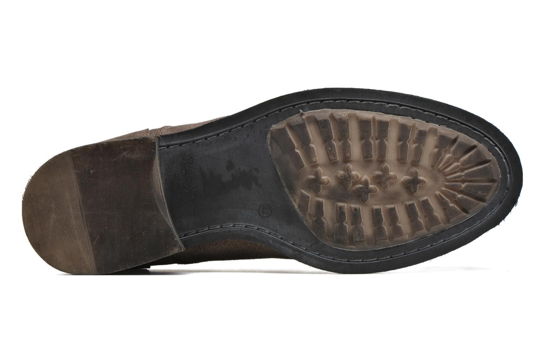 Chaussures à lacets Pepe jeans Hackney Rustic Marron vue haut