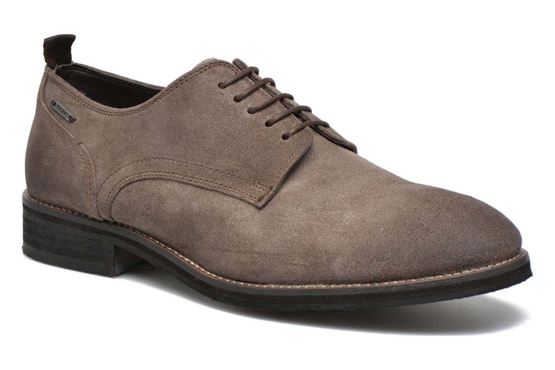 Chaussures à lacets Pepe jeans Hackney Rustic Marron vue détail/paire