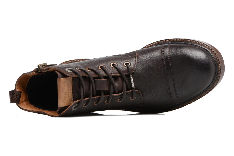 Bottines et boots Pepe jeans Vivek Boot Marron vue gauche