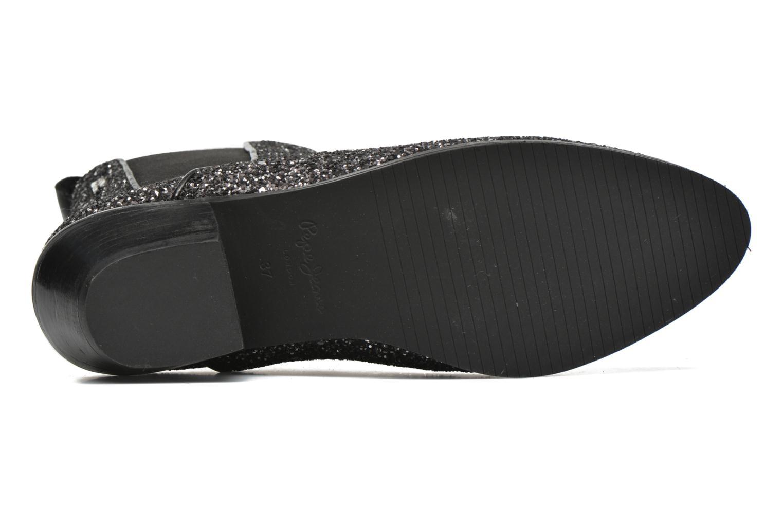 Stiefeletten & Boots Pepe jeans Dina Party silber ansicht von oben