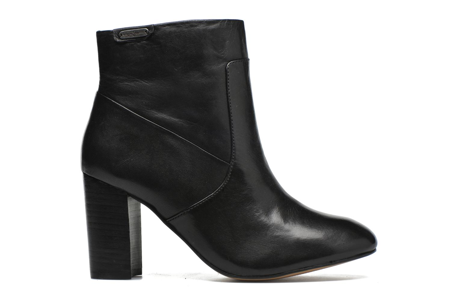 Ankle boots Pepe jeans Dylan Napa Black back view