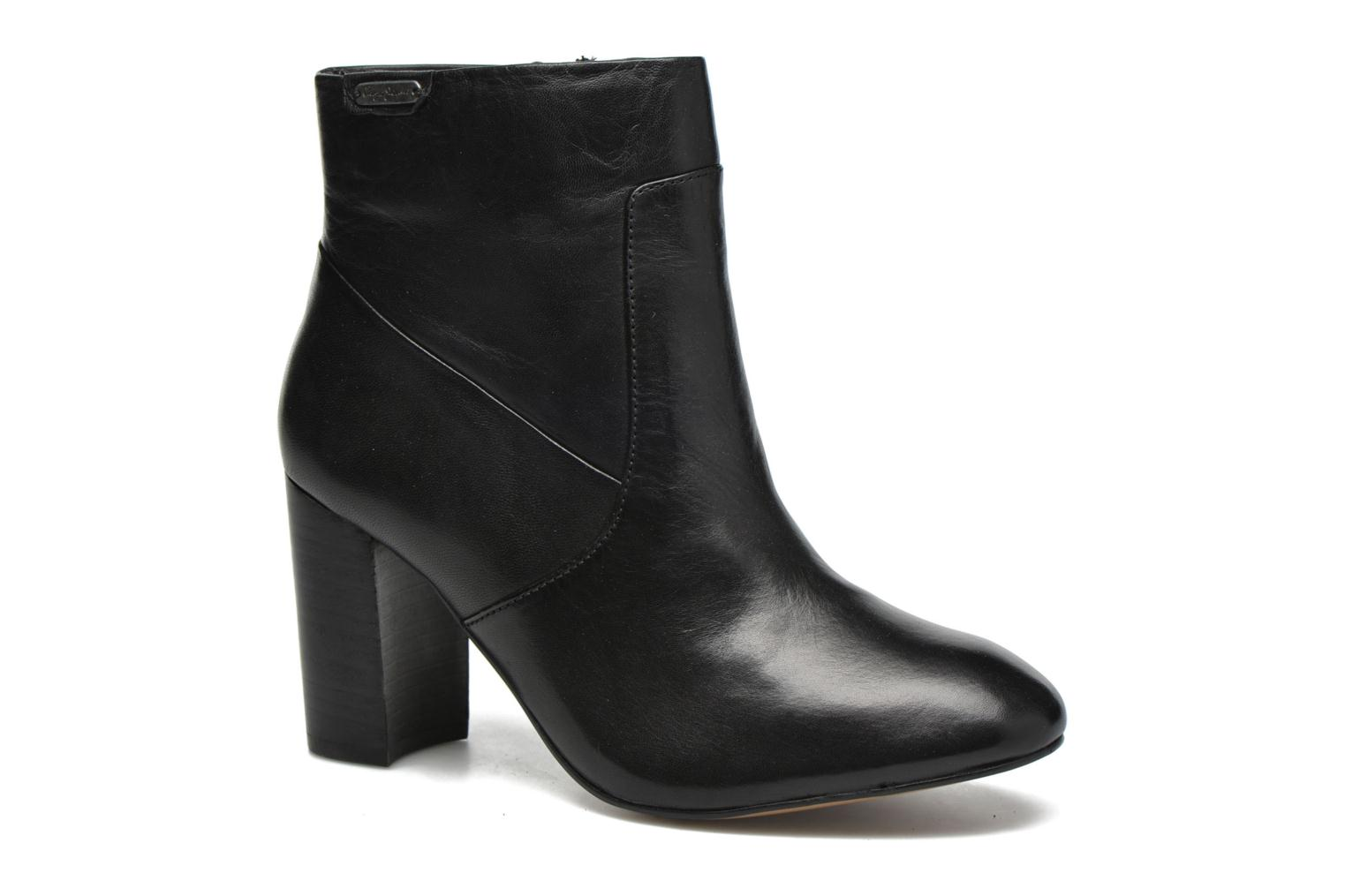 Ankle boots Pepe jeans Dylan Napa Black detailed view/ Pair view