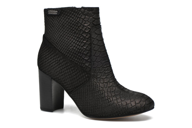 Grandes descuentos últimos zapatos Pepe jeans Dylan Basic Snake (Negro) - Botines  Descuento